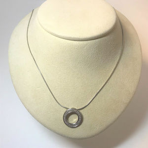 f114 Vintage Sterling Silver Chain Necklace 22""